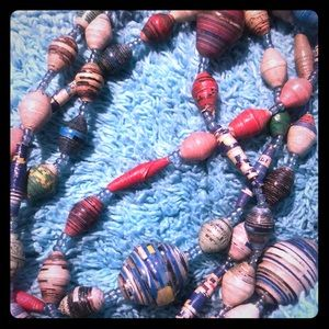 Jewelry - Long beaded necklace.